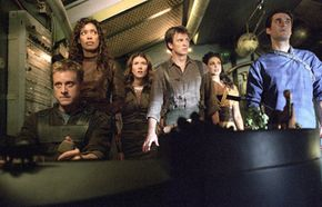"""The crew and passengers of """"Serenity"""". See more Serenity pictures."""