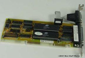 A dual serial port card