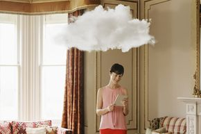 Cloud-based storage solutions have advantages for many small business owners (even if they don't look like actual clouds).