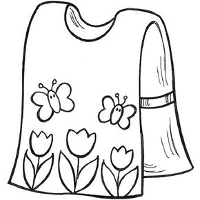Paint-Proof Art Smock sewing craft