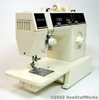 A standard electric sewing machine is an amazing piece of technology.
