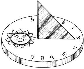 Sundial shadow fun activity