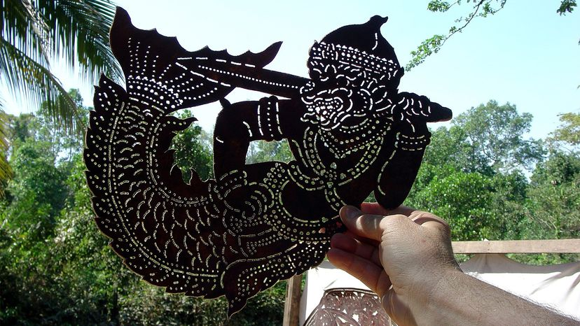 Cambodian shadow puppets