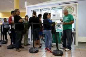 A whole lot of people lined up in January 2014 to sign up for health care (and thus avoid the individual shared responsibility provision).