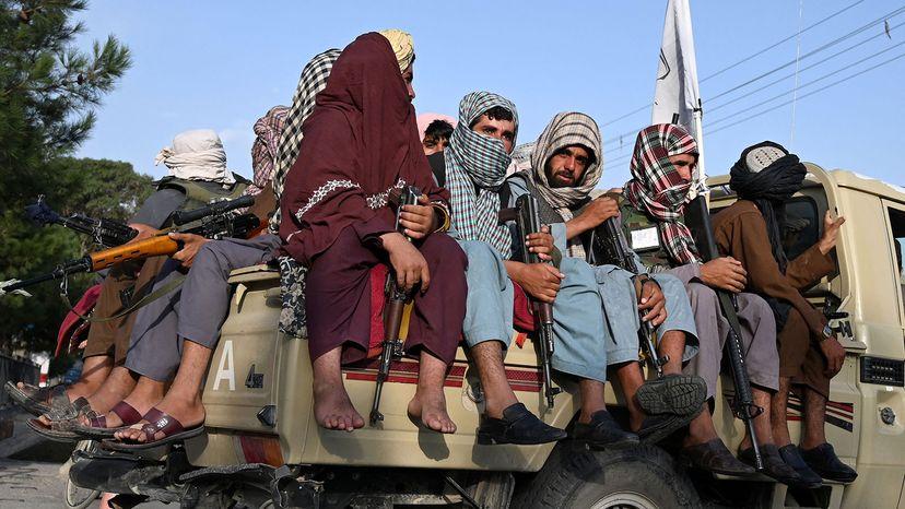 Taliban fighters