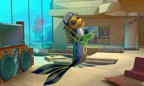 Oscar (Will Smith) dreams of a living in an upscale penthouse at the Top of the Reef.