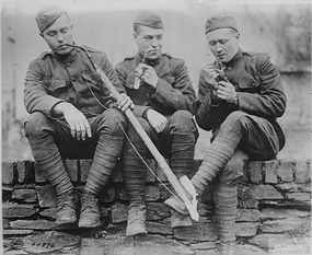 Soldiers shaved out of necessity during World War I, but millions of American and European men soon followed suit.
