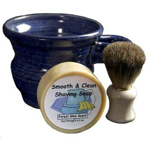 Classic shaving technology.