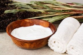 Unusual Skin Care Ingredients Image Gallery Shea butter is an emollient and anti-inflammatory that contains fatty acids and vitamins A, E and K. See more pictures of unusual skin care ingredients.