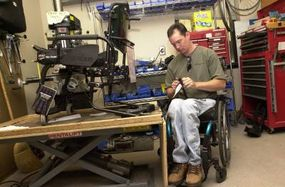 """Wheelchairs are not a """"one size fits all"""" piece of equipment. They must be customized to fit each person's lifestyle and functional ability. To determine which wheelchair works best, seating experts perform medical evaluations, clinical assessments and fitting services."""