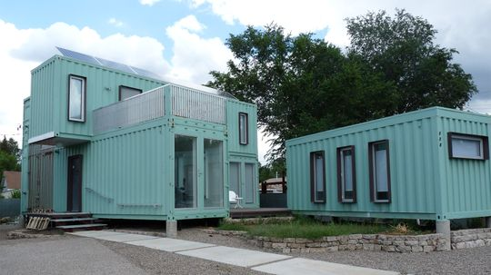 The Ultimate Downsize: Living in a Shipping Container Home