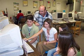 Students accessing the Visual History Archive via Internet2