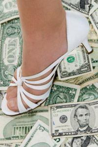 Fashionable feet don't come cheap.