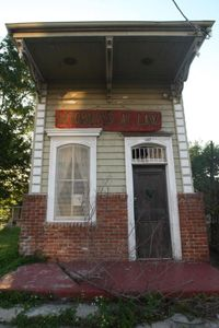 Because of their cultural legacy, many shotgun houses -- like this one in New Orleans -- are being preserved and protected.
