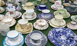 Dishes are a must for any registry -- but whether it's china or everyday plates is up to you.