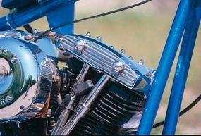 The Harley-Davidson Shovelhead engine was given a big boost in displacement -- and power.