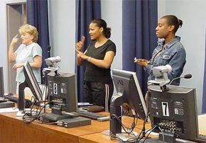 Sign Language Interpretation Lab at GPC