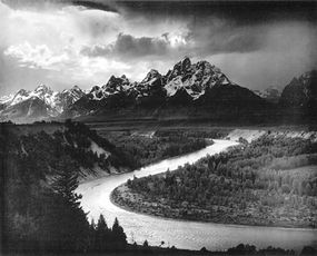 The photographer Ansel Adams was a member of the Sierra Club. The Club used some of his work to promote conservation.
