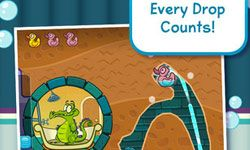 Swampy's so cute -- of course you want to help him get his bathwater!