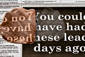 One of Silly Putty's many talents: copying newsprint. It just makes a regular old photocopy seem so boring.