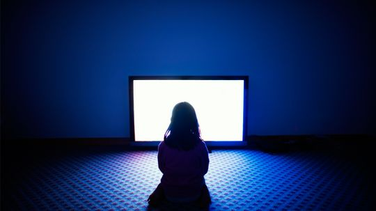 Is sitting too close to the TV really bad for your eyes?