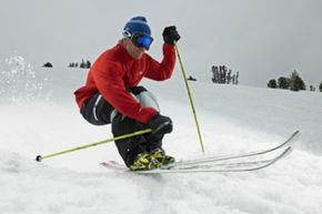Image Gallery: Winter Sports You better have some powerful muscles if you're planning on hitting slopes like those on Mammoth Mountain, Calif. See more pictures of winter sports.
