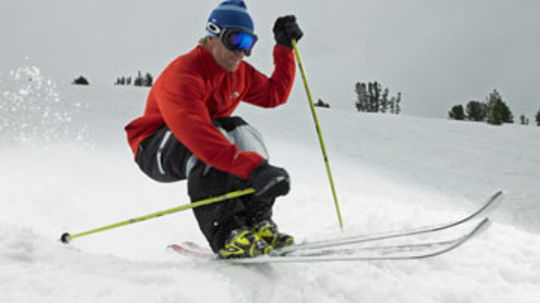How can ski squats improve my skiing?