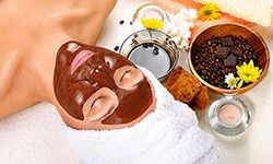 Chocolate face mask are packed with antioxidants your skin needs.