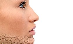 Dry, peeling skin on your face can be annoying and uncomfortable.