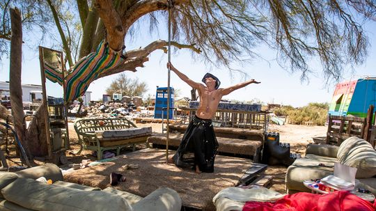 What's It Like in Slab City, the 'Last Free Place' in the U.S.?