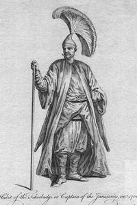 A Turkish captain of the Janasaries, circa 1700