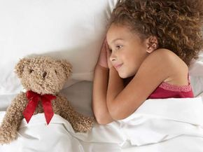 A good night's sleep AND a teddy bear? What more could anyone ask for?