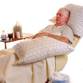 Illness and poor health affect sleep habits.
