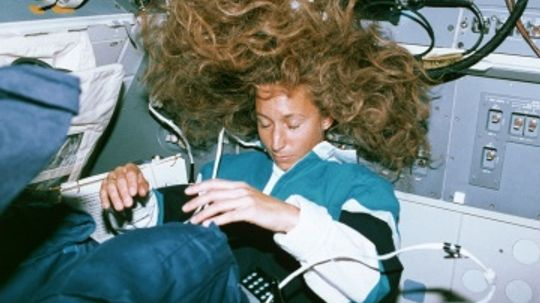 What is it like to sleep in space?