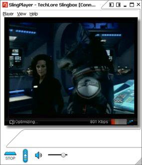 Slingbox video stream