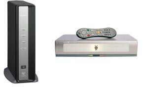 LocationFree TV (left) and TiVo Series 2