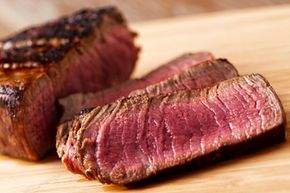 There are significant differences between beef from cattle who've eaten only grass and those on a grain-heavy diet.