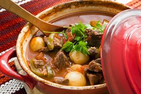 Slow cookers are a simple way to make home-cooked comfort foods. See more pictures of comfort food.