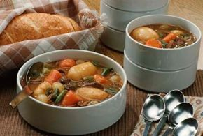 Recipes with a high moisture content, such as soups, are ideal for the slow cooker.