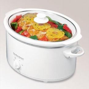 The slow cooker is a great dinner preparation appliance for today's busy world.
