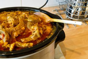 Put some spice into dinner with an easy-to-use slow cooker. See more easy weeknight meals pictures.