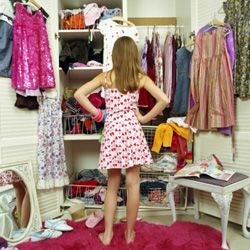 Be realistic about how much stuff you can fit in your closet.