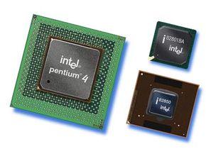 The Pentium 4 processor family.