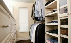 A closet system can help you get the most space.