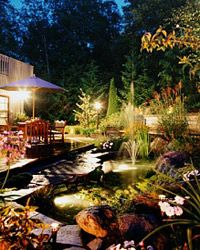 Water features can make outdoor living even more enjoyable. See more pictures of famous gardens.