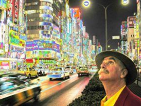Author Howard Rheingold in Japan