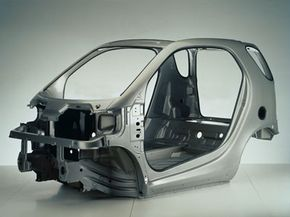 The Smart Fortwo's Tridion steel safety shell