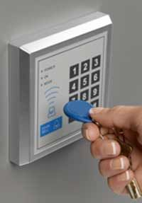 This keypad will send a message to your lamp.