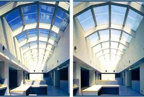 These roof panels are fitted with SwitchLite Privacy Glass ™.