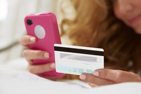 If you make a credit card purchase from your smartphone, don't save the password to the shopping app; this lessens the chance of fraud if your phone is stolen.